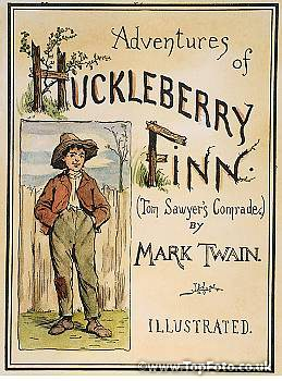 An analysis of the hypocrisy in the adventures of huckleberry finn by mark twain