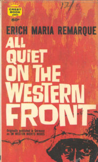 an analysis of the character paul baumer in all quiet in the western front A critical book review of erich maria remarque's all quiet on the western front a scene in the novel features the main character, paul baumer analysis of.