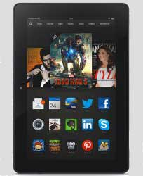 Kindle Fire HDX 8.9 Inch E-book Reader and Tablet All-in-One